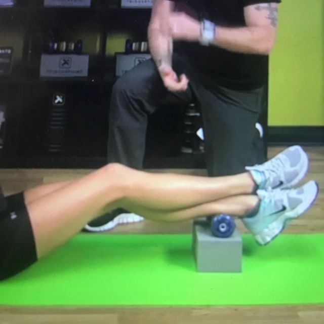 How to do: Soleus release - Step 2