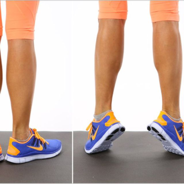 How to do: Calf Raises - Step 1
