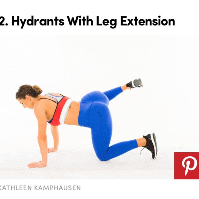 How to do: Hydrant With Leg Extension - Step 1