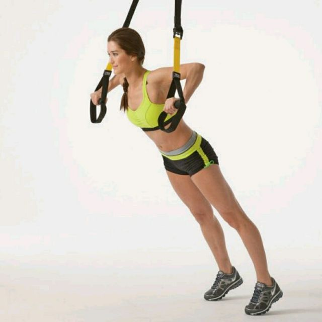 How to do: TRX Pushups - Step 1