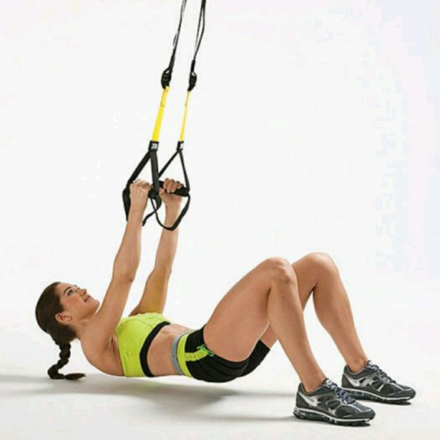 How to do: TRX Inverted Rows - Step 1