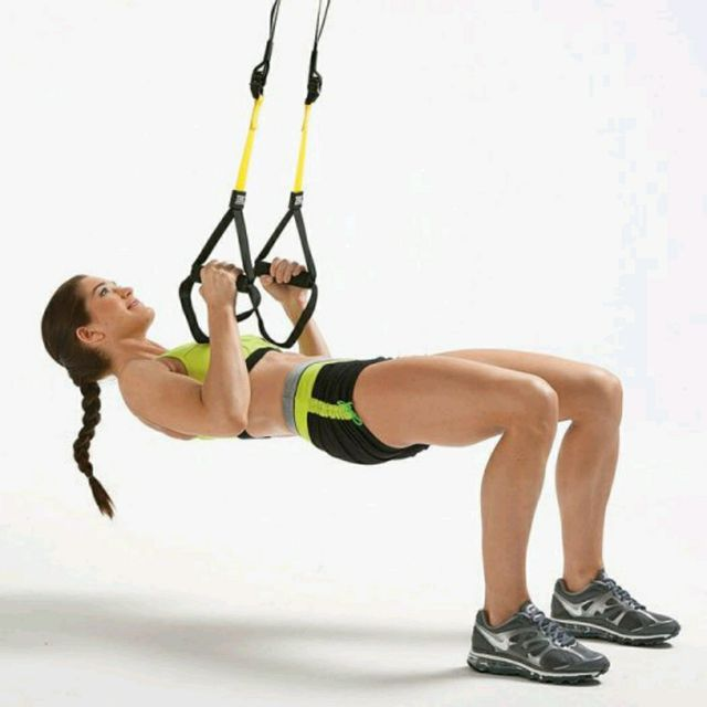 How to do: TRX Inverted Rows - Step 2