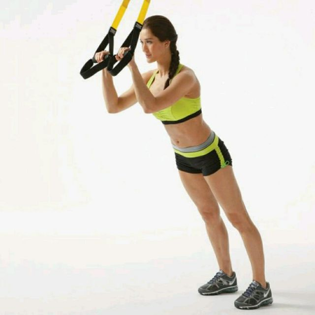 How to do: TRX Triceps Extension - Step 1