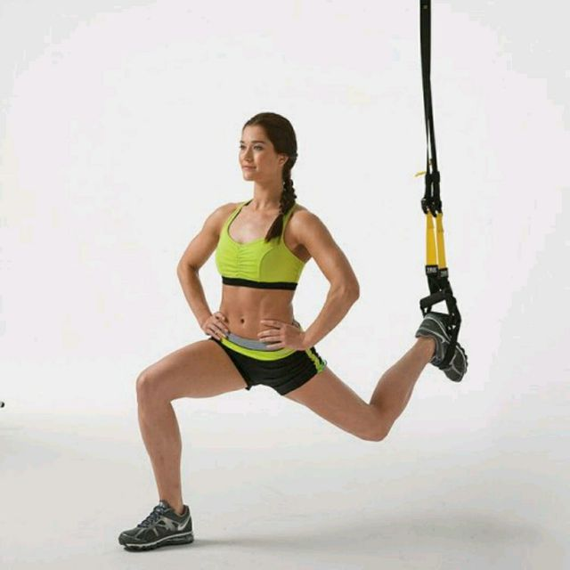 How to do: TRX Lunge - Step 1