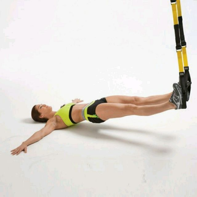 How to do: TRX Hamstring Pull-Ins - Step 1