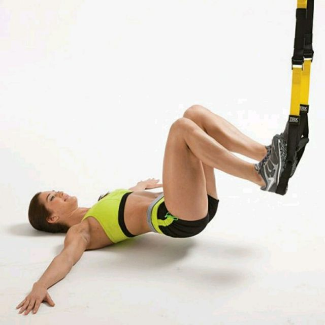 How to do: TRX Hamstring Pull-Ins - Step 2