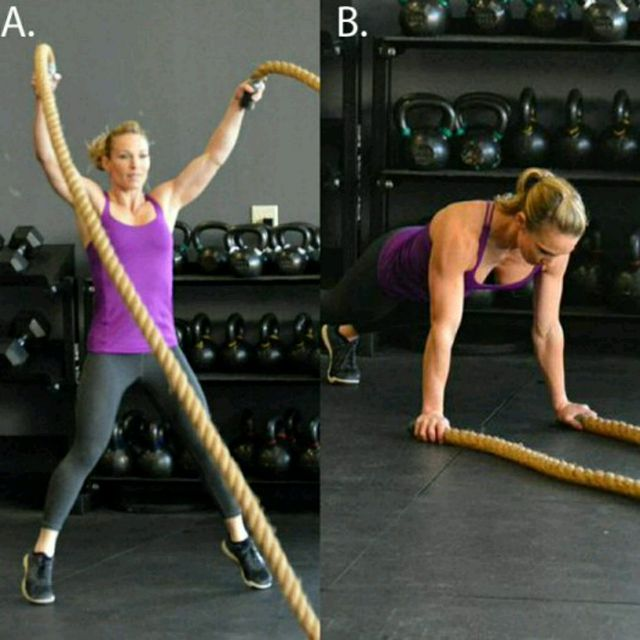 How to do: Squat Thrust Power Slam With Plank - Step 1