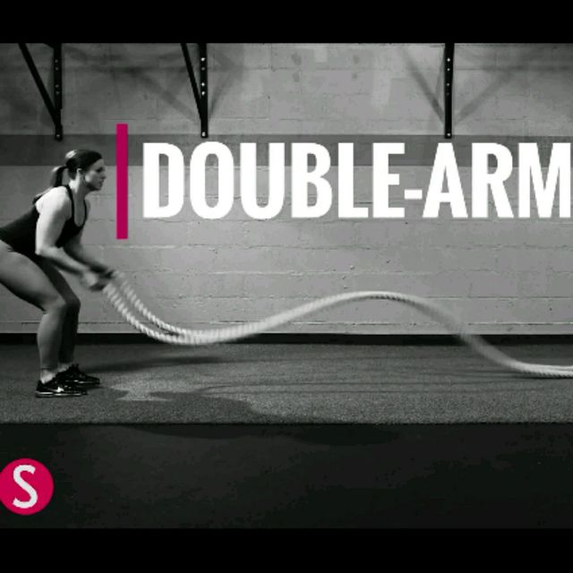 How to do: Double Arm Wave - Step 1