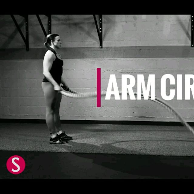 How to do: Arm Circles - Step 2