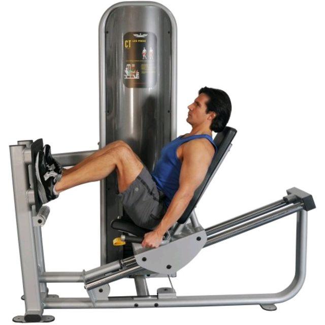 How to do: Leg Press Machine - Step 1