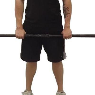 Forearm Flexor Forward Barbell Roll
