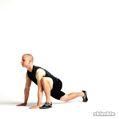 13 Outside Runners Lunges