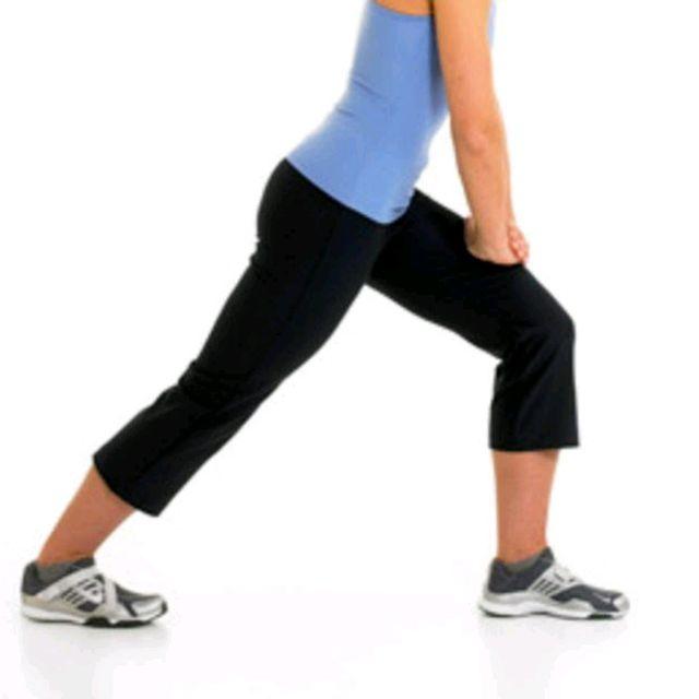 How to do: Alternate Calf Stretches - Step 1