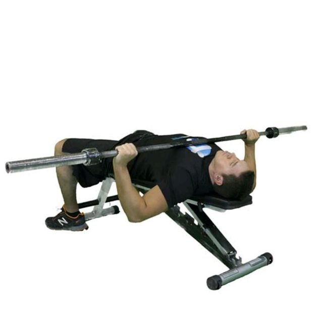 Barbell Press Dumbbell Press: Barbell Wide Grip Bench Press