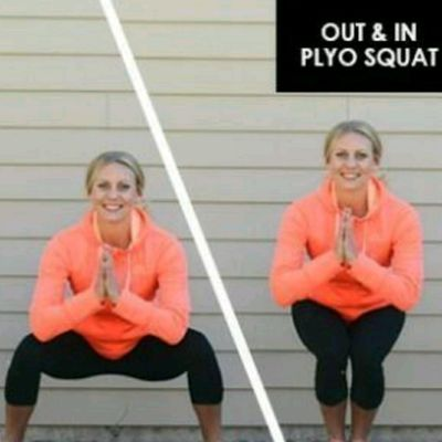 Out & In Plyo Squat