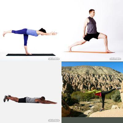 (20 min +) Yoga