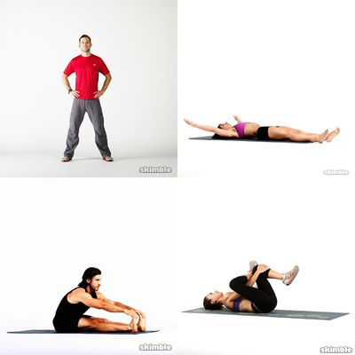 Wake Up & Bedtime Stretches
