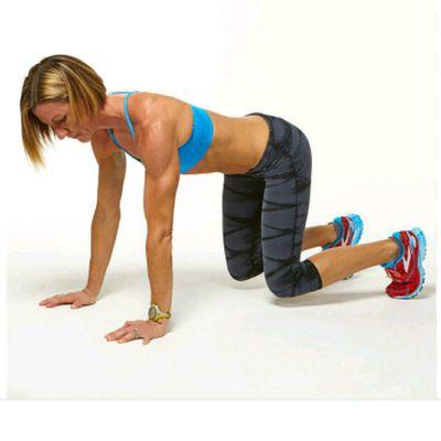 Crouching Tiger Plank