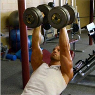 Dumbell Chest Press With Rotation