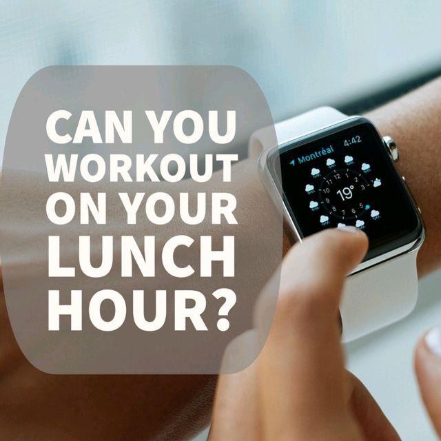 30 Minute Lunch Break Blast