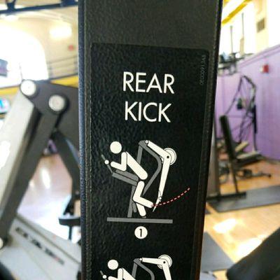 Rear Kick
