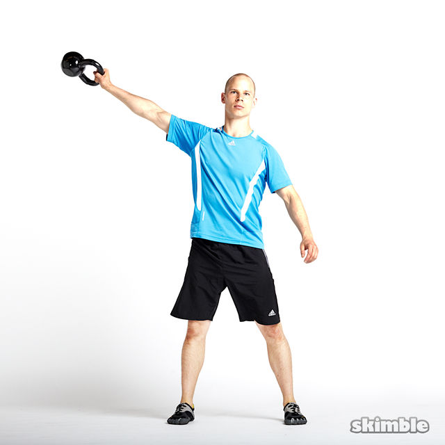 Kettlebell High Weight 1