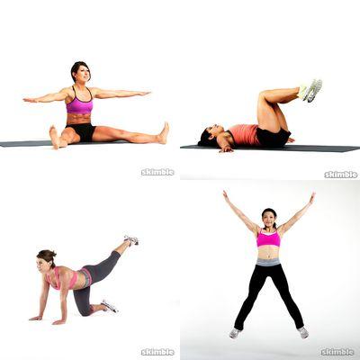 stretch; yoga and pilates
