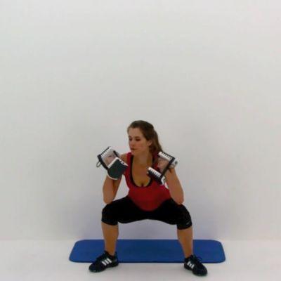 Boxer Squat + Punch
