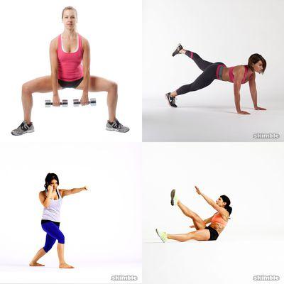 berta workouts