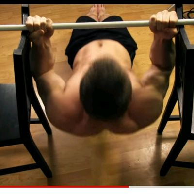 Inverted Biceps Curl
