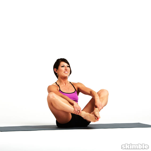 How to do: Rolling Butterfly with Leg Extension - Step 5