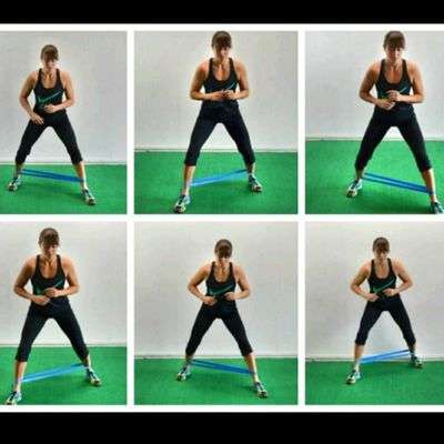 Loop Band Walking Adductors