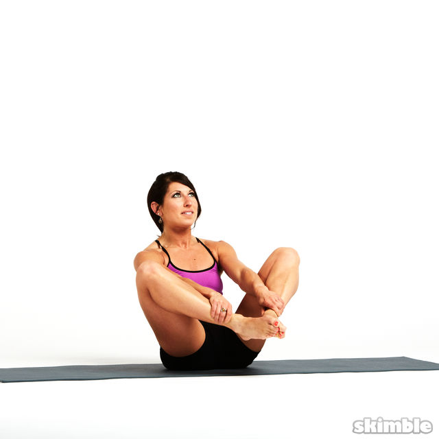 How to do: Rolling Butterfly with Leg Extension - Step 7
