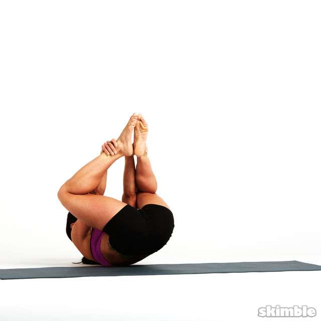 How to do: Rolling Butterfly with Leg Extension - Step 8