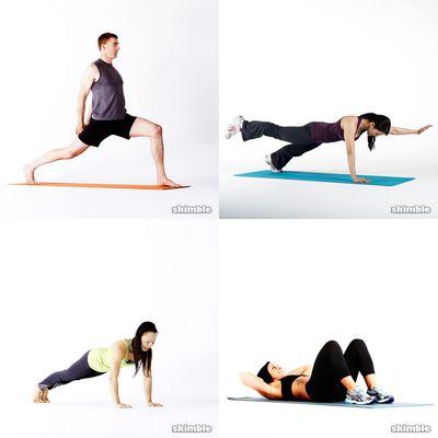 David's Core Workouts