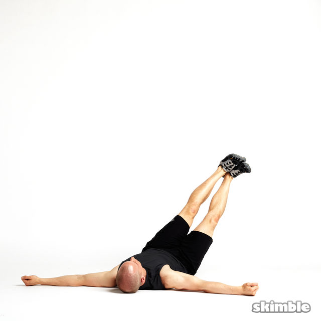 How to do: Rotating Leg Lifts - Step 5