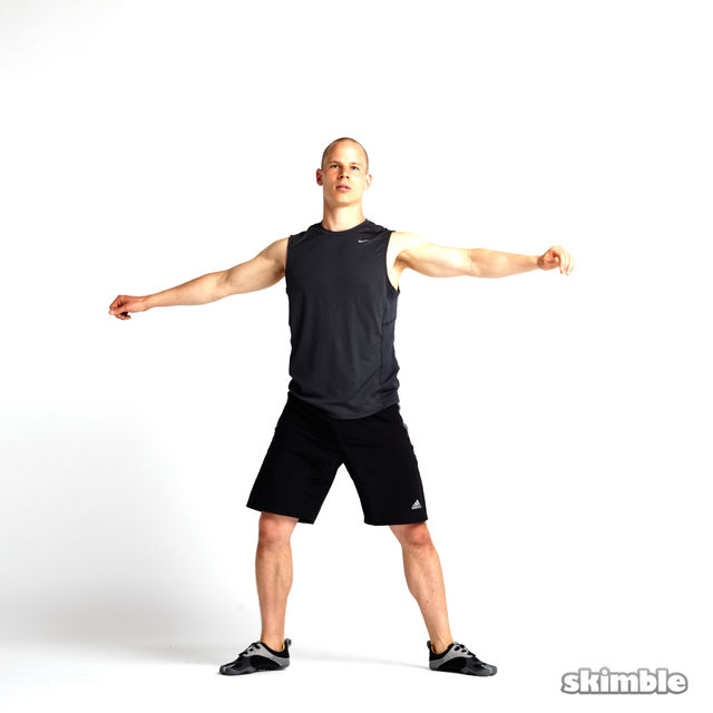 How to do: Rotating Lunges - Step 5