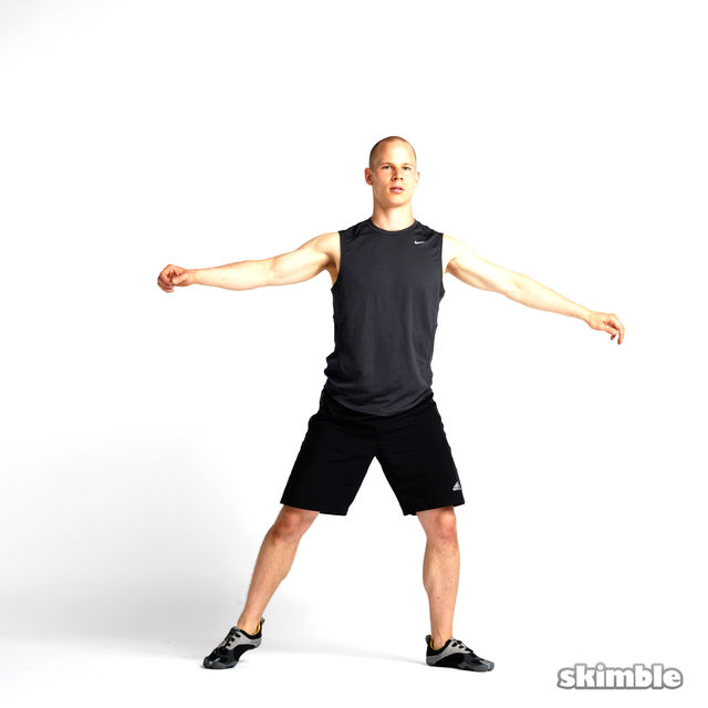 How to do: Rotating Lunges - Step 1