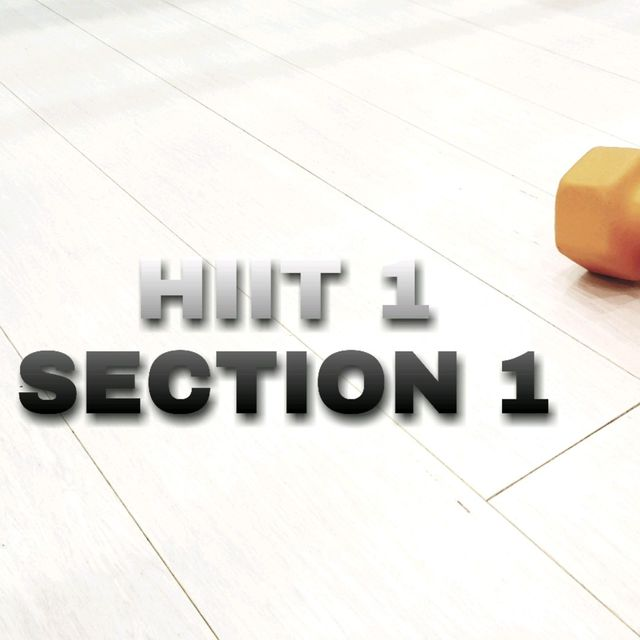 HIIT 1 SECTION 1