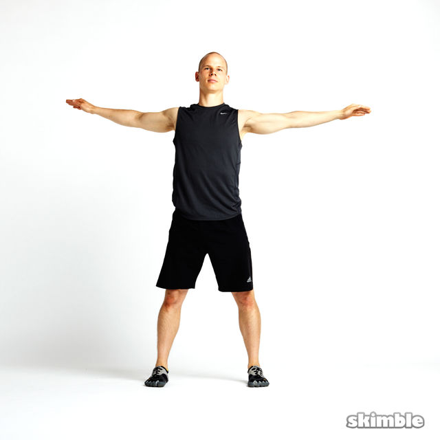 Rotating Toe Touches - Exercise How-to - Workout Trainer ...