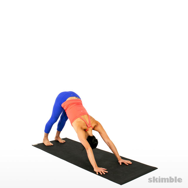 How to do: Advanced Sun Salutation - Step 7