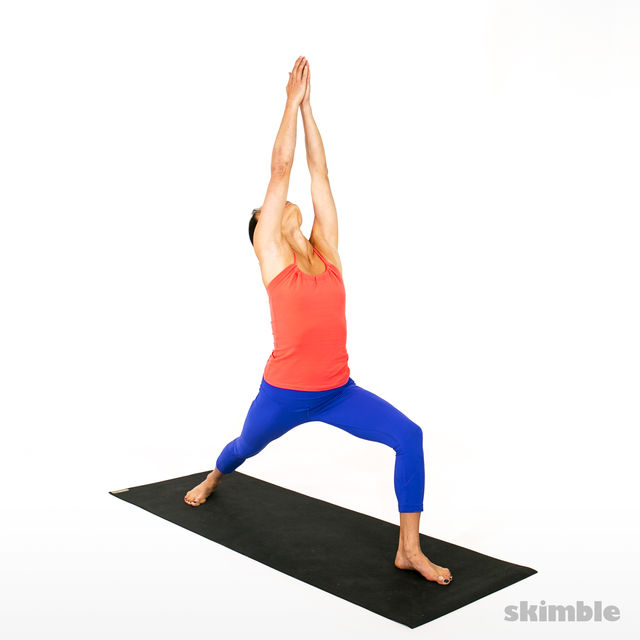 How to do: Advanced Sun Salutation - Step 13