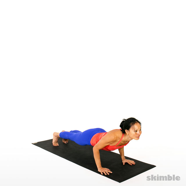 How to do: Vinyasa - Step 3