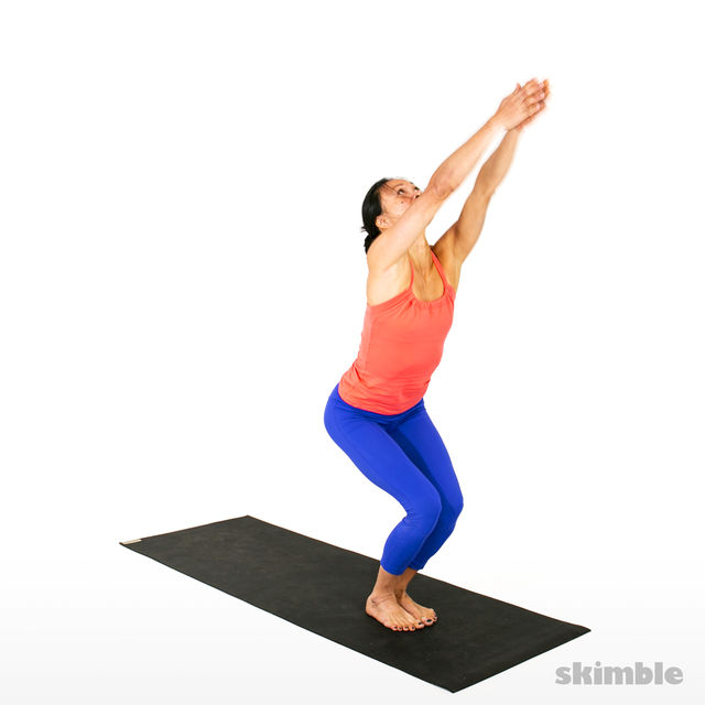 How to do: Advanced Sun Salutation - Step 19