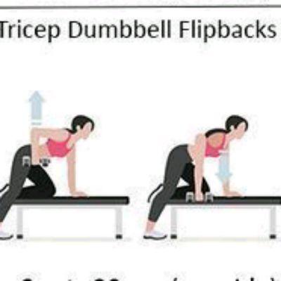 Tricep Dumbell Kickbacks