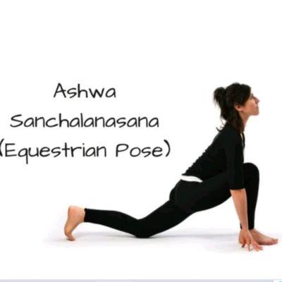 Ashwa Sanchalanasana- Left