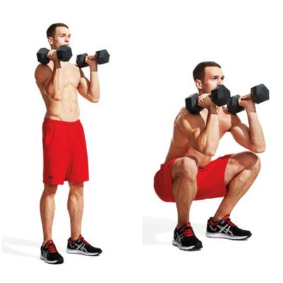 Dumbell Squats
