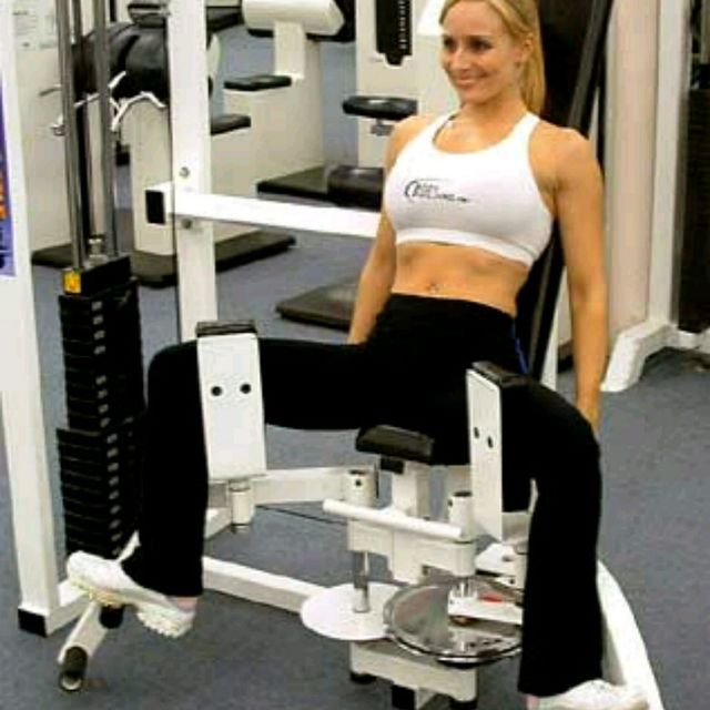Hip Adductor Machine - Exercise How-to - Workout Trainer by Skimble