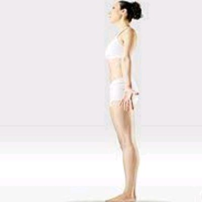 Standing With Deep Breathing - Tadasana
