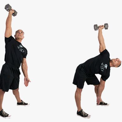 Dumbbell Windmill